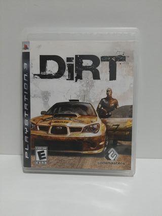 Dirt para Ps3. En inglés.
