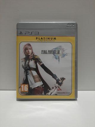 Final Fantasy XIII para Ps3. Platinum.