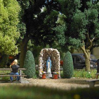 Modelismo maqueta H0 Busch 1095 virgen monumento