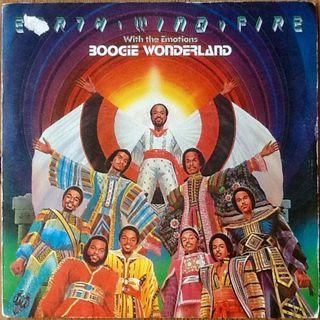 """EARTH WIND & FIRE """"BOOGIE WONDERLAND"""" single-7'"""