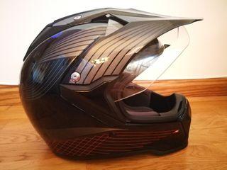 470€ PVP original. Casco alta gama MX-Tourer Suomy