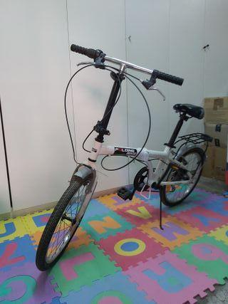 Bicicleta Folding Bike plegable.
