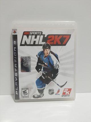 2K Sports NHL 2K7. Ps3. En inglés.