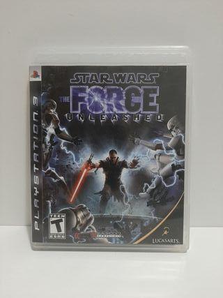 Star Wars The Force Unleashed. Ps3. En inglés.