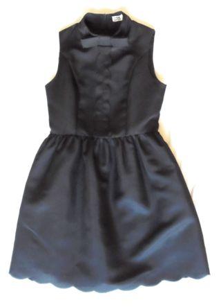 molly bracken. vestido negro. talla xs