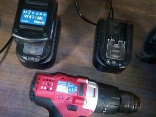 radial y taladro de bateria casi nuevo