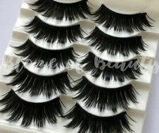 lashes dramatic look full glam