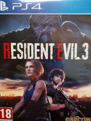 Resident Evil 3 Remake PS4.