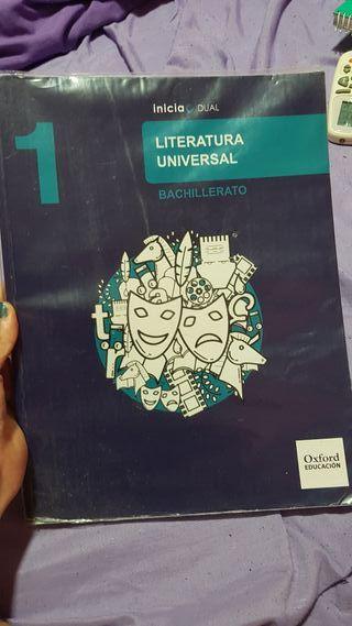 libro 1 bachillerato literatura universal