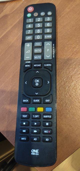 """Mando TV Universal para LG """"One for All"""" Urc1911"""