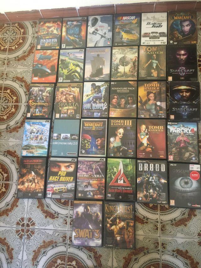 32 videojuegos PC. Starcraft 2, WOW, Far Cry 4...