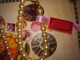 collar y pulsera de perlas de Mallorca