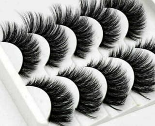 3d mink black eyelashes
