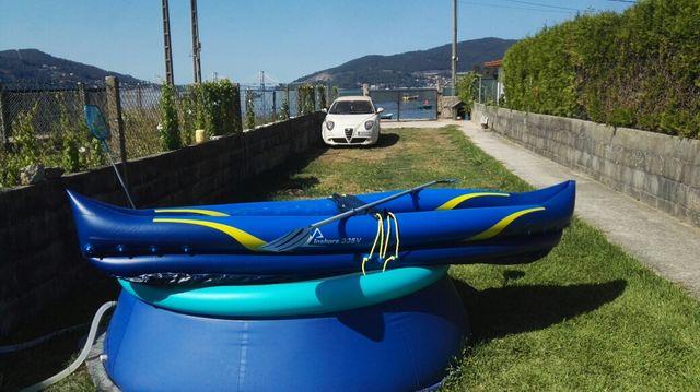 kayak hinchable 2 personas