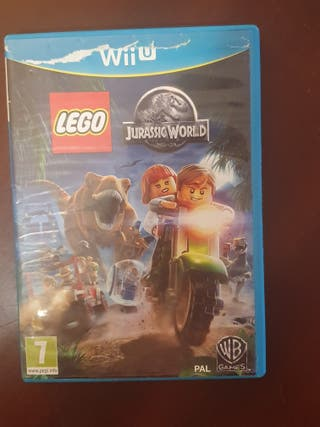 Lego Jurassic Park Nintendo Wii U videojuego