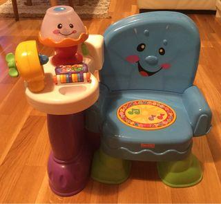 Silla aprendizaje para bebes de Fisher Price