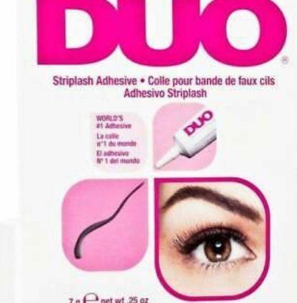 duo eyelash glue dark