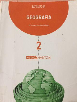 Geografía Batxilergos 2