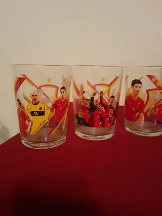 vasos de Campeonato del Mundo de España
