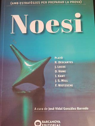 Noesi. Textos de filosofía per a les PAU