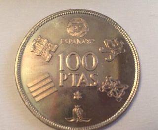22 Monedas de 100 pesetas d 1980