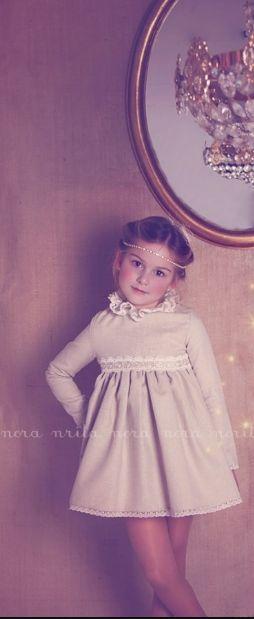 espectacular vestido talla 5 años Nora norita Nora