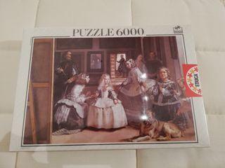 Puzzle 6000 piezas Las Meninas