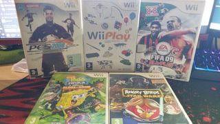 Pack de Juegos para WII