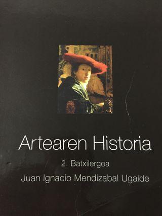 Artearen Historia 2Batxilergoa