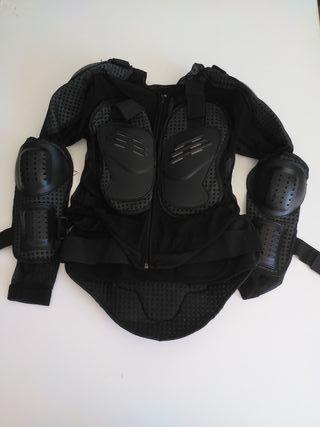 Peto armadura motocross de niño como nuevo