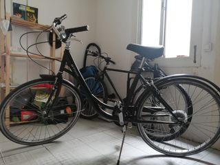 Bicicleta BTWIN con 5 cambios Shimano