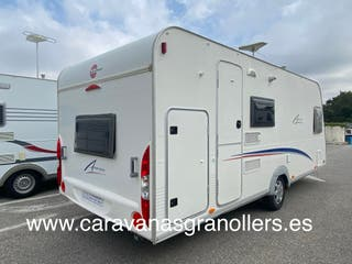 caravana burstner averso 495 tk con aire acondicio