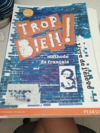 Libro de francés de 3° de la Eso