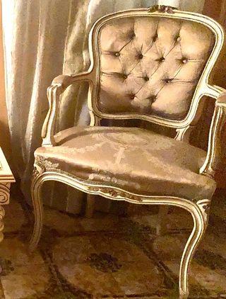 Sillones y sofá Luis XVI