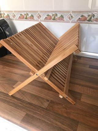 Escurridor Bambú Plegable(NUEVO)