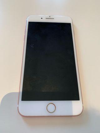 IPHONE 7 PLUS 128GB ROSA ESTROPEADO