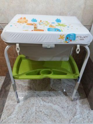 Cambiador - Bañera de bebe