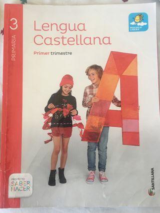 Libro Lengua Castellana 3° Primaria