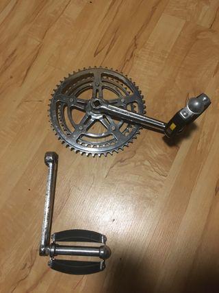 Bielas y pedales