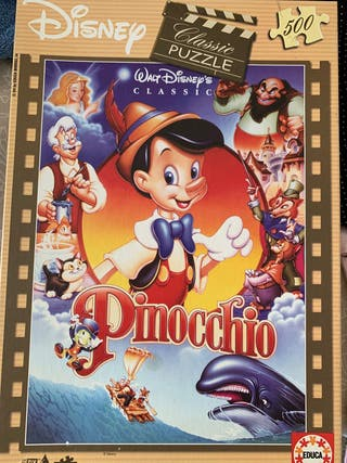 Puzzle infantil Pinocho