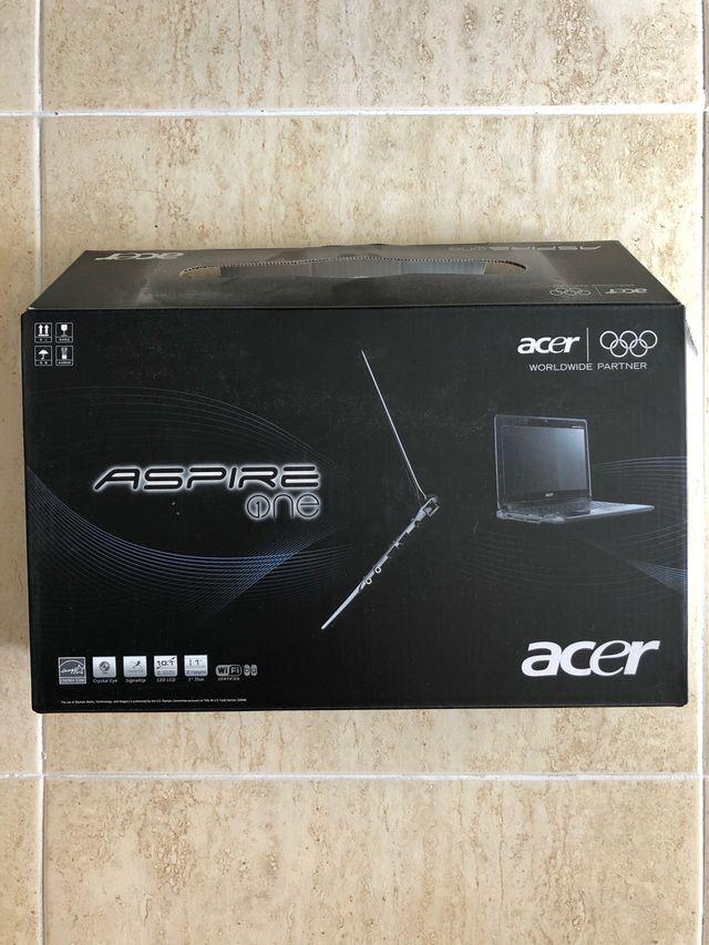 Portátil Acer aspire one
