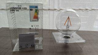 Bombilla Lunnom Led de Ikea NUEVA,sin estrenar