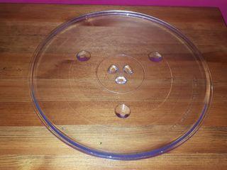 Plato microondas, diámetro 31,5cm.