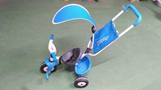 Triciclo Smoby para bebé de 1 a 3 años