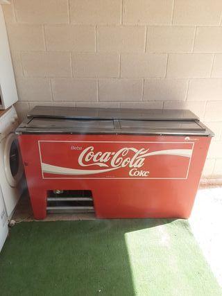 botellero vintage coca-cola