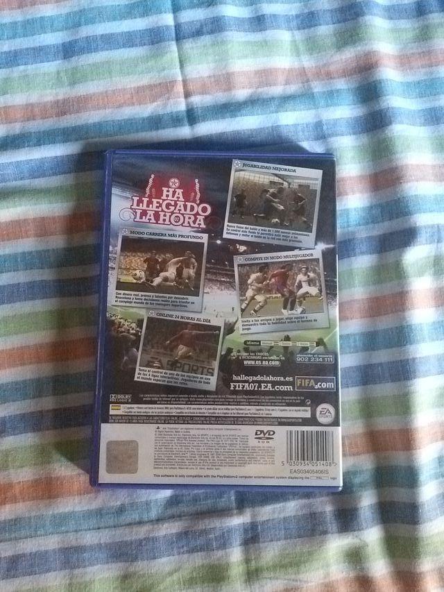 Videojuego Fifa 2007 (PS 2)