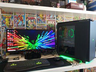 "pc gamer - ordenador gaming monitor ultrawide 29"""