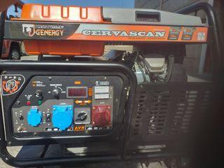 Generador 12kW trifasico-monofasico Cervascan