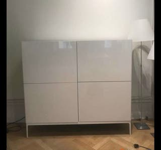 Mueble salón blanco, perfecto estado