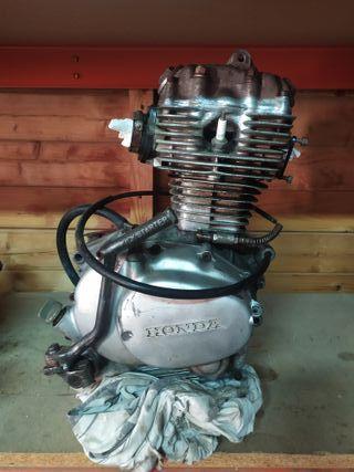 motor Honda cb125 J
